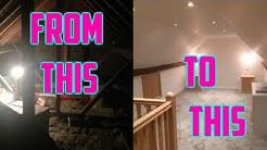 Convert an attic into a bedroom loft conversion