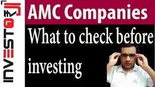 What to check in a AMC company