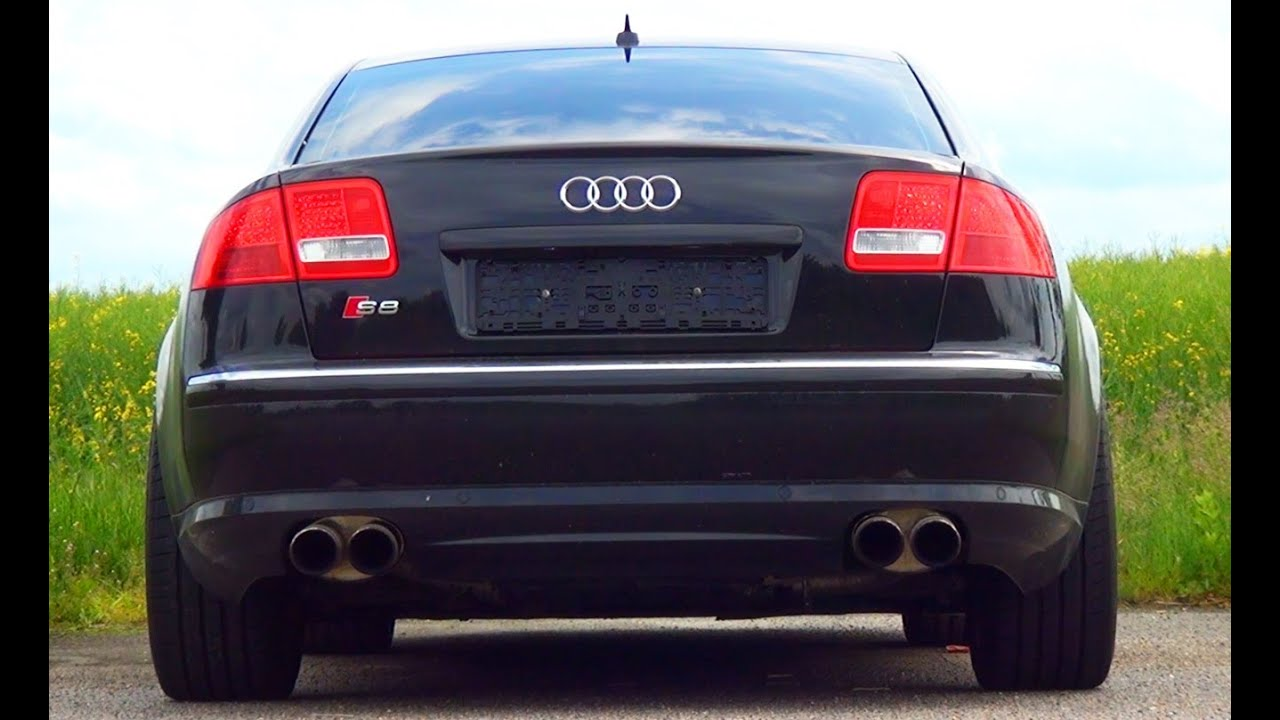 audi s8 v10 sound start up revving revs 5 2l custom. Black Bedroom Furniture Sets. Home Design Ideas