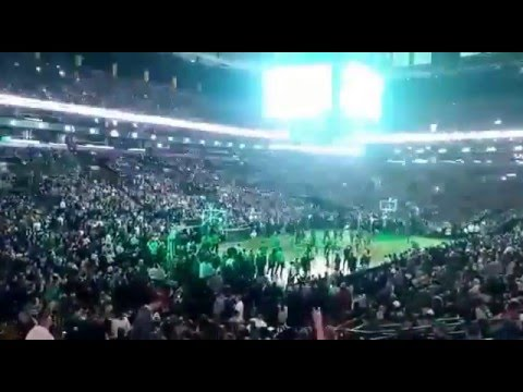 NBA TD Garden Boston Celtics 2016 intro