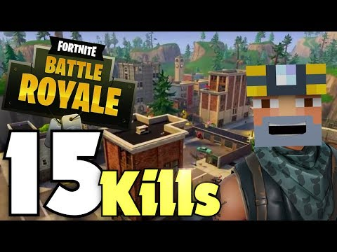 Clearing Out Titled! 15 Kill Solo Win! (Fortnite Battle Royale)