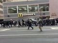 DC police confront group of demonstrators