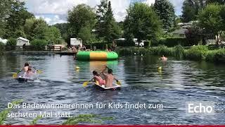 Badewannenrennen im Fischbachtal