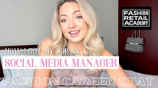 CAREER CHAT! After FRA / Working as Social Media Manager