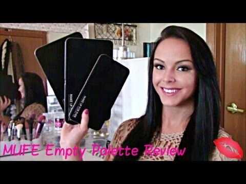Makeup Forever MUFE Empty Palette Review