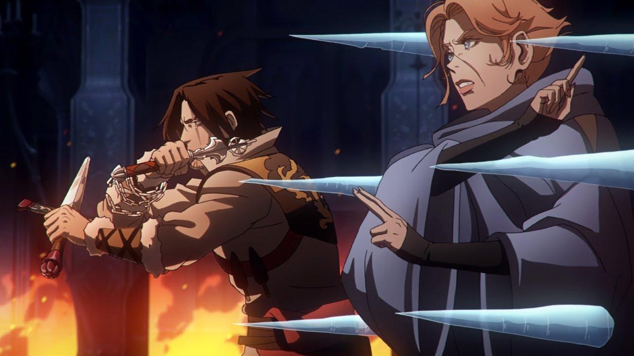 Download Alucard, Trevor and Sypha vs. Vampires part 1   Castlevania Season 2