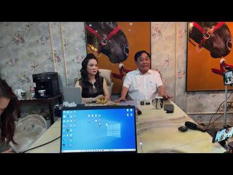Ông Huỳnh Uy Dũng và Bà Nguyễn Phương Hằng livestreaming ngày 18/4/2021