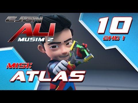 Ejen Ali Musim 2 (EP10) - Misi : Atlas [Bahagian 1]