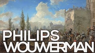 Philips Wouwerman: A collection of 145 paintings (HD)