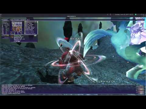 Shiva Prime Fight on FFXI Private Server