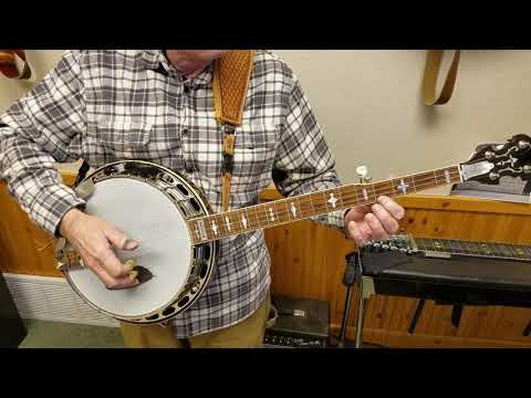 Melodic Scale for Banjo