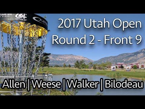 2017 Utah Open - Round 2 - Cat Allen, Jessica Weese, Amy Bilodeau, Madison Walker (Front 9)