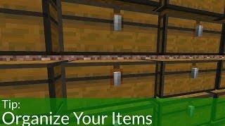 How To Organize Your Items in Minecraft