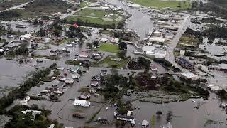 Major DISTRESS ravage CAROLINAS USA 35 Dead,  HURRICANE, FLOODS, DARKNESS 9/18/18