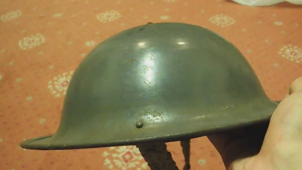 British Mark 2 Brodie/Tommy helmet