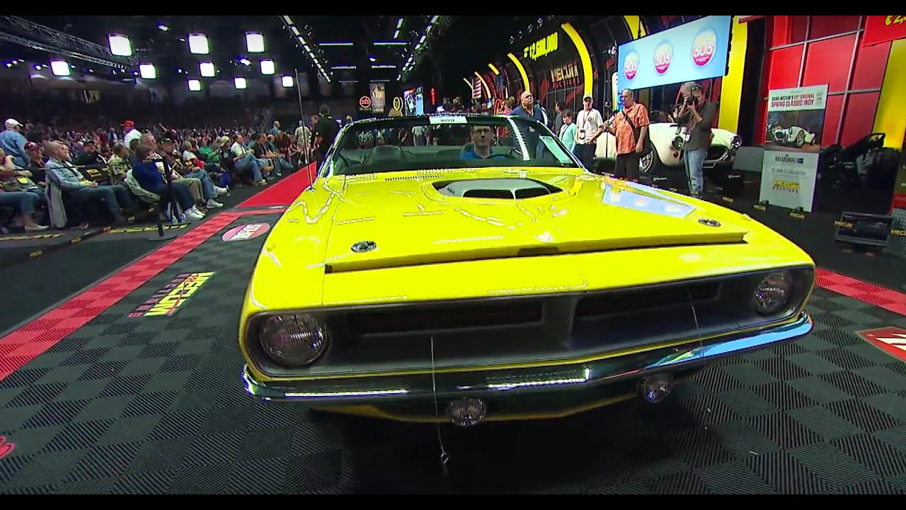 Multi-Million Dollar Muscle Cars SOLD at Mecum Kissimmee 2016 - YouTube