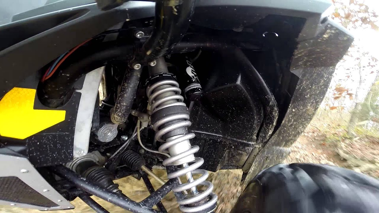 Testing the RacerTech Dual Rate springs for the 2015 RZR S ...
