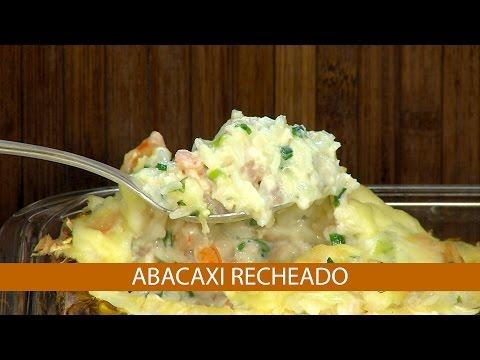 ABACAXI RECHEADO E CACHORRO QUENTE DE FORNO