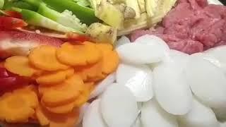 Bánh Gạo Xào