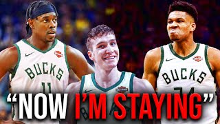 Jrue Holiday and Bogdan Bogdanovic TRADED to The Bucks! Is Giannis Staying?