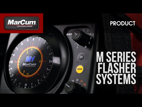 The MarCum® M-Series Is The Biggest Advancement In Sonar Flashers In Decades