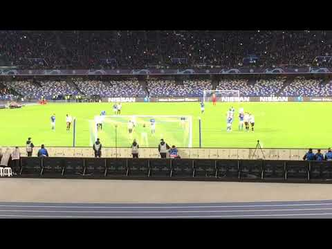 Napoli Genk 4 A 0 Live Rigore Di Milik