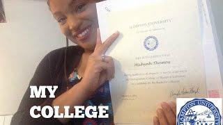 MY COLLEGE DECISION || DECIDING ON HAMPTON U