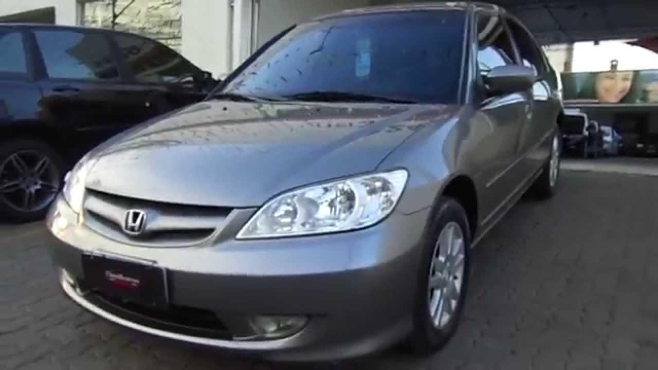 Honda Civic Lx 1 7 16v Autom 225 Tico 2006 Youtube