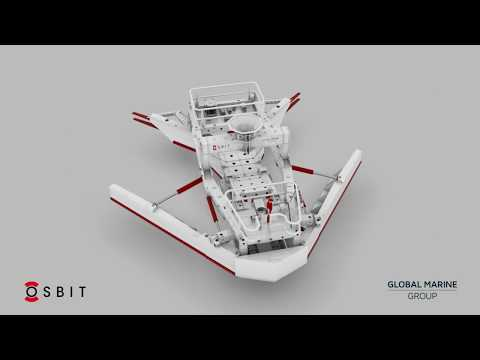 Osbit Scion 240 Pre-lay Plough for Global Marine Group - Preview