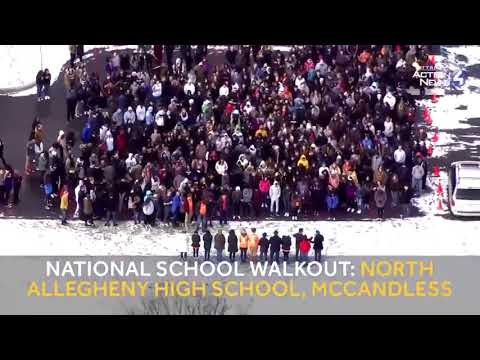 National School Walkout: Pittsburgh CAPA and North Allegheny High School