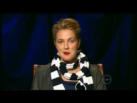 Drew Barrymore Interview On ROVE (Australia) Whip It Movie