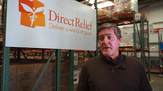 Father Rick Frechette Visits Direct Relief