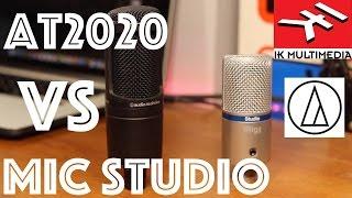 Affordable Condenser Microphones: iRig Mic Studio VS AT2020