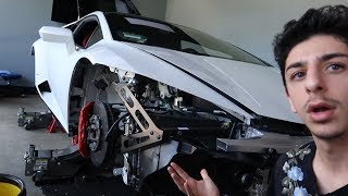 THEY DESTROYED MY LAMBORGHINI... (WTF) | FaZe Rug