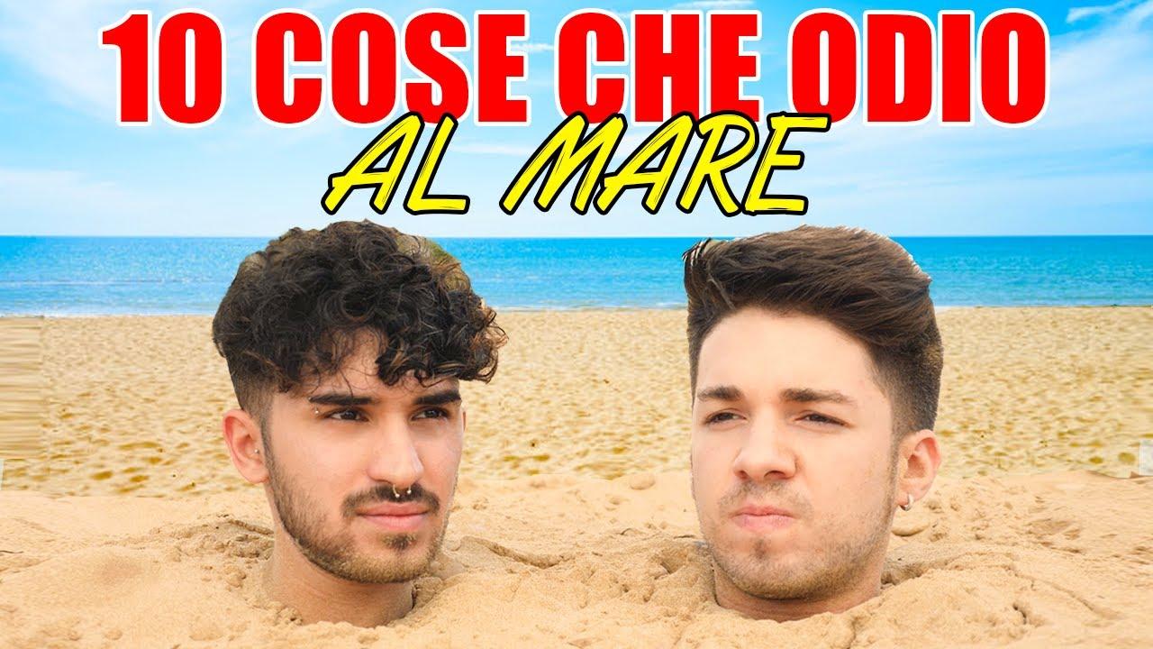 10 COSE CHE ODIO AL MARE | Matt & Bise
