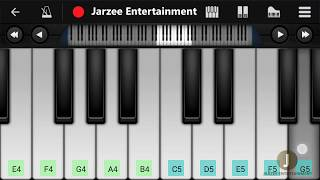 Tera Zikr - Darshan Raval | Mobile Perfect Piano Tutorial with Notes and Midi File