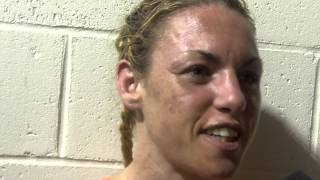 Heather Hardy After Her Win - EsNews boxing
