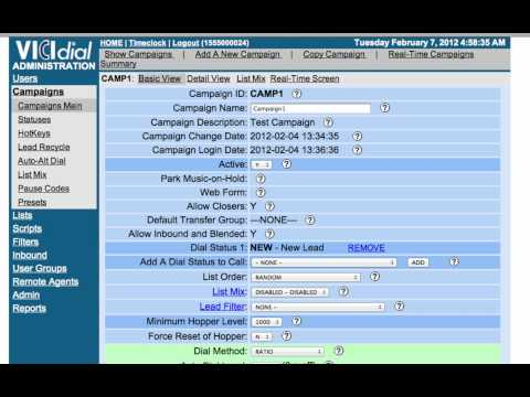 Setting CallerID in the OwnPages Vicidial Predictive Dialer
