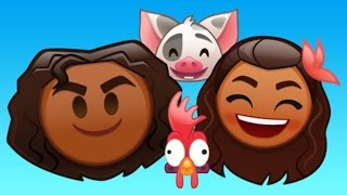 Moana As Told By Emoji