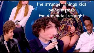 Download the stranger things kids being memes for 4 minutes straight Mp3 and Videos