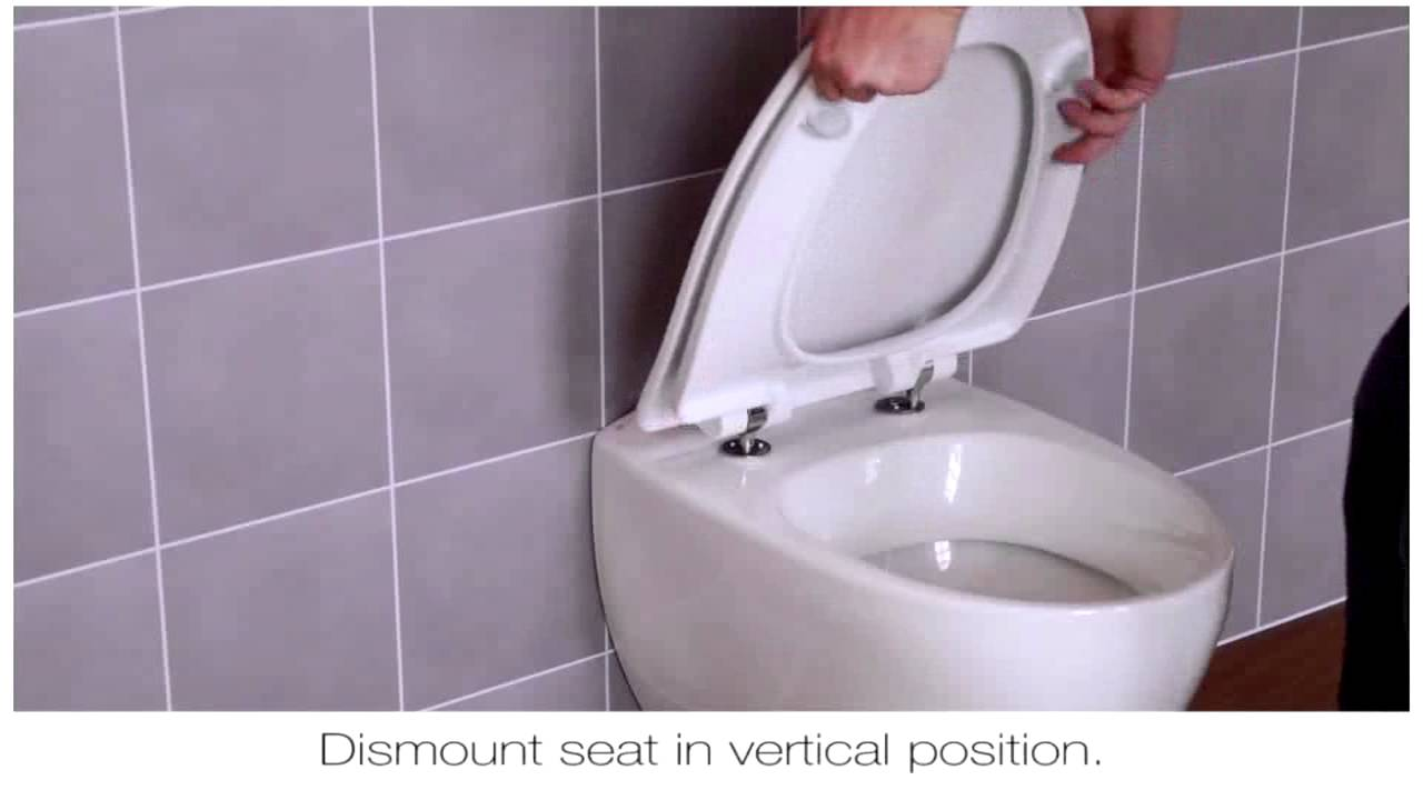 How To Fit A Pressalit D02 Toilet Seat Hinge Youtube
