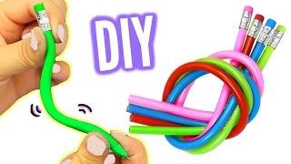 dIY!  Как сделать гибкий карандаш!