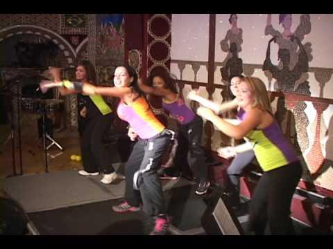 San Diego's Zumba Instructor Ninfa Skezas at Tango Del Rey (El Show de Nuestra Gente)