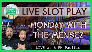 🔴LIVE Slot Machine Play! Monday Night at the Casino 🎰 HUGE Buffalo Gold Bonus at the Bar