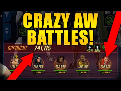 741k H4H & Other Amazing AW Battles - MARVEL Strike Force - MSF