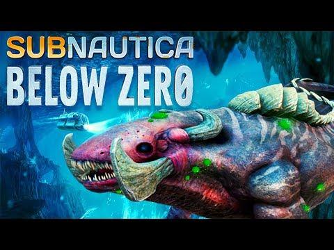 ОБНОВЛЕНИЕ ЗАМОРОЖЕННОГО ЛЕВИАФАНА ● Игра Subnautica BELOW ZERO Прохождение