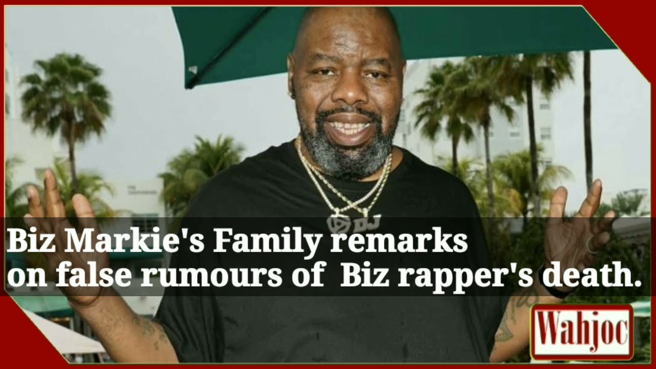 Biz Markie is still alive but has 'serious health issues,' rep says