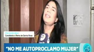 Vendimia 2020: Por primera vez Santa Rosa tendrá una candidata trans.