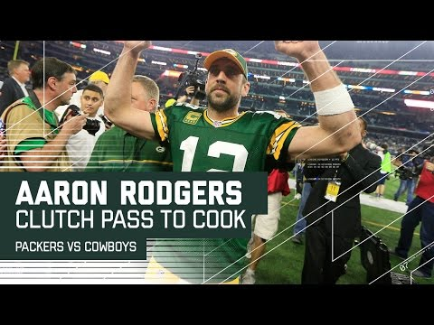 Aaron Rodgers' Clutch Pass to Jared Cook Sets Up Game-Winning FG! | NFL Divisional Highlights