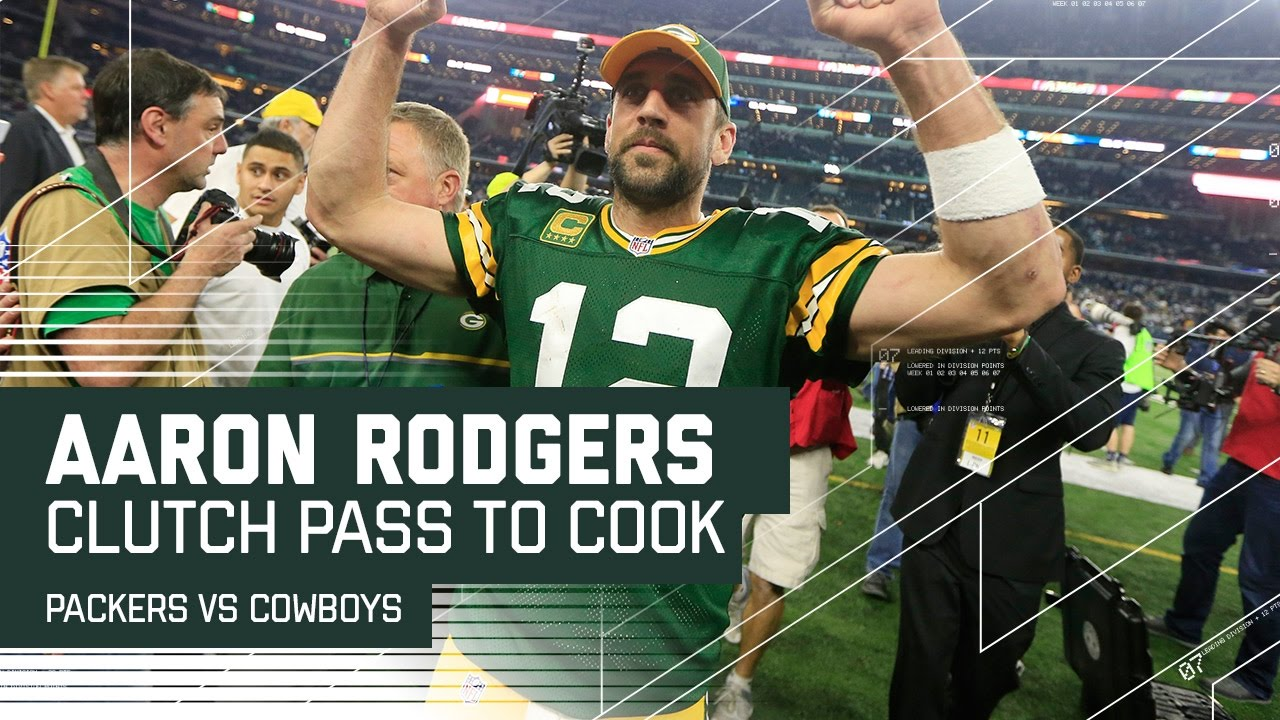 Aaron Rodgers' Clutch Pass to Cook to Set Up Game Winning FG! | NFL Divisional Highlights